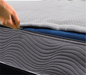 Removable, Drycleanable Cover